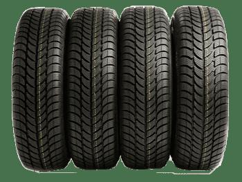 4 pneus en illustration du site